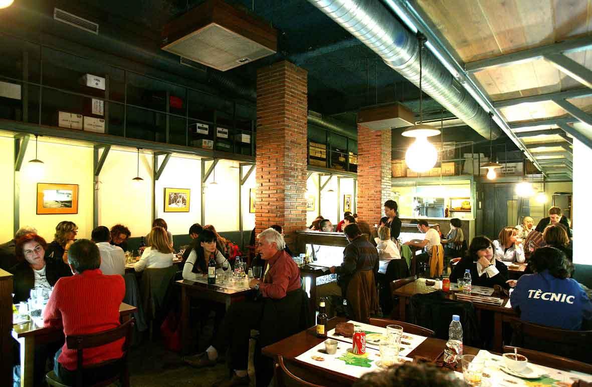 Restaurante en eixample. La Llavor dels Origens. Comida catalana tradicional.