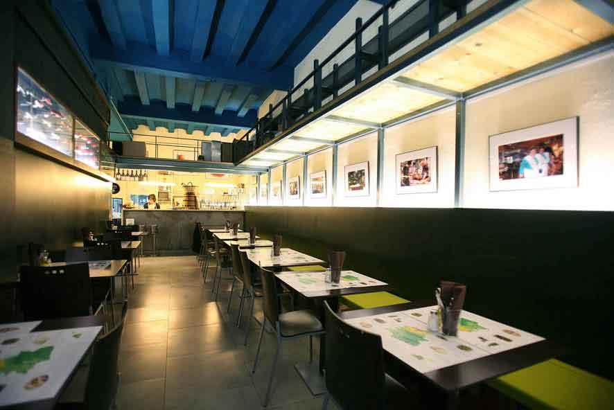 Restaurante en Gracia, Barcelona (Ramon y Cajal 12) La Llavor dels Origens - comida catalana tradicional